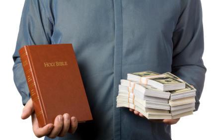 Kristendommens forhold til penger og rikdom