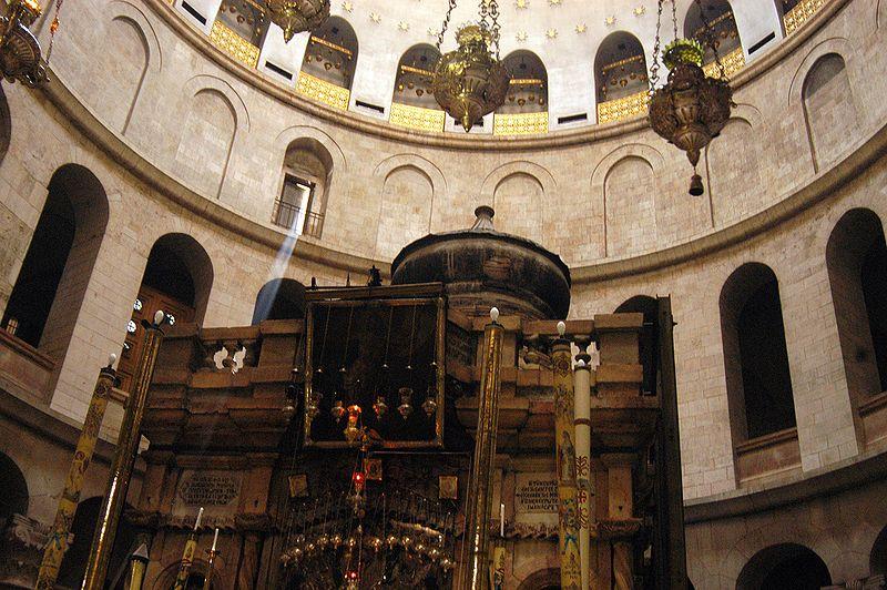 Fremstående kirkebygg: Den hellige gravs kirke i Jerusalem