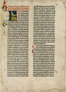 Gutenbergs første bibel